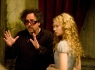 """ALICE IN WONDERLAND""  (L-R) Tim Burton, Mia Wasikowska  Ph: Leah Gallo  © Disney Enterprises, Inc.  All Rights Reserved."