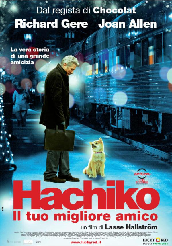 locandina Hachiko il tuo migliore amico