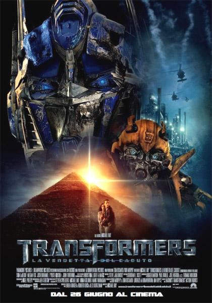locandina Transformers la vendetta del caduto